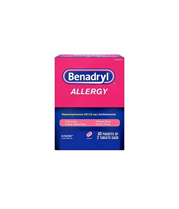 BENADRYL® 25'S BOX