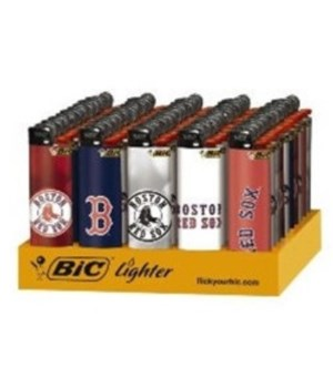 BIC L/E LIGHTER 50's -BASEBALL- BOSTON RED SOX