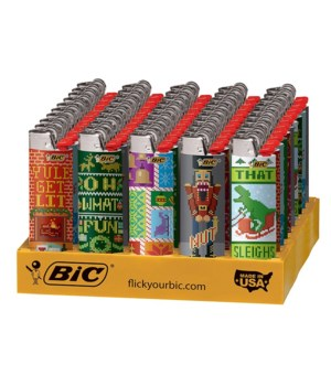 BIC L/E LIGHTER 50's- HOLIDAY