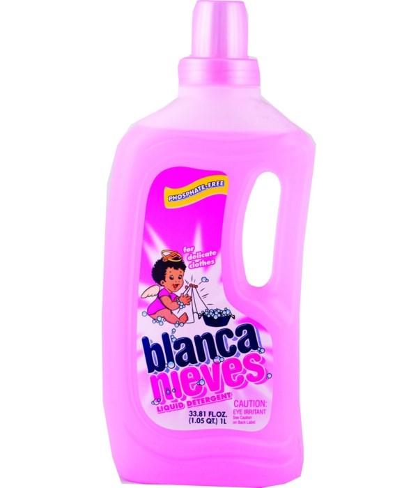 BLANCA NIVES® DETERGENT  LIQUID 33.8 OZ - 12/CS