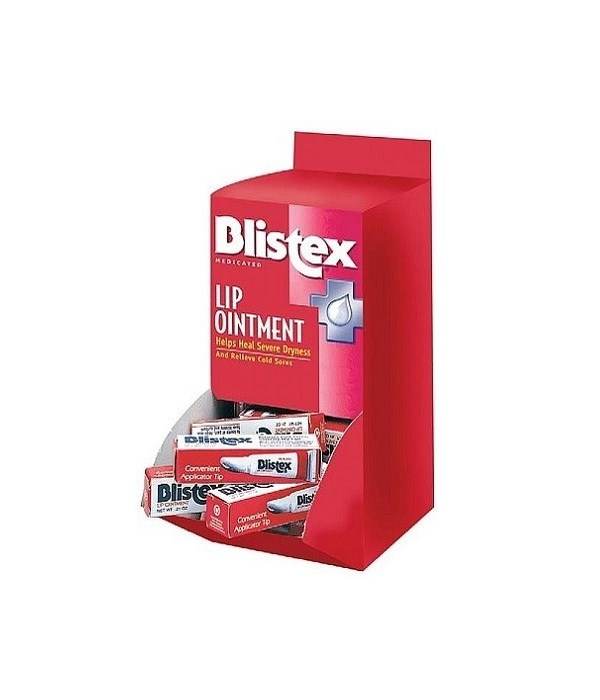 BLISTEX MEDICATED LIP OINTMENT -36/DISPLAY-RED 20693