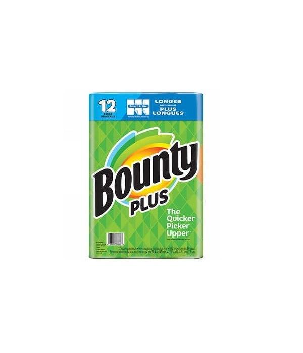 BOUNTY® 84 SHEETS  SELECT SIZE - 12/CS