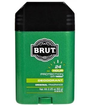 BRUT® SOLID DEODORANT CLASSIC 2.25 OZ - 12/UNIT (07002)