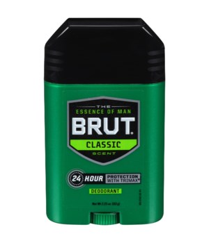 BRUT® SOLID OVAL ANTIPERSPIRANT- CLASSIC 2 OZ