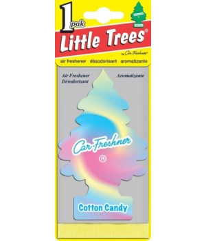 CAR FRESHENER® COTTON CANDY 1'S - 24/CS (10282)