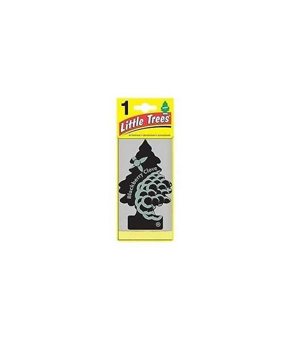 CAR FRESHENER® BLACKBERRY CLOVE 1'S  -  24/CS (17343)