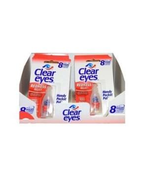 CLEAR EYES 0.2 OZ - 48/CS