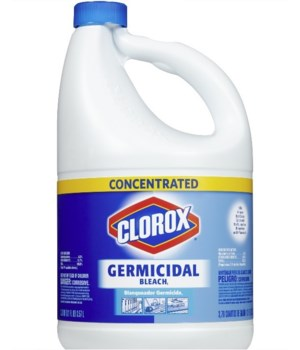 CLOROX® GERMICIDAL 121oz CONCENTRATED- 3/CS (307906) - (30798) (30966)