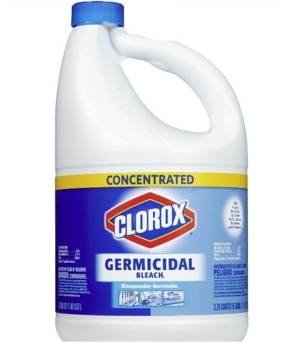 CLOROX® GERMICIDAL 121oz CONCENTRATED- 3/CS (307906) - (30798) (30966)