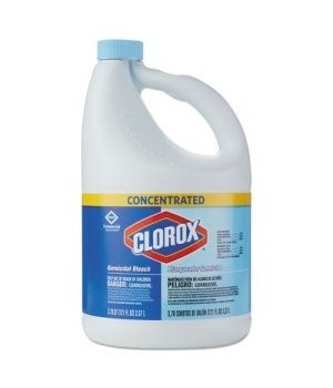 CLOROX® BLEACH LIQUID GERMICIDAL 121oz - 24/DISPLAY (32052)