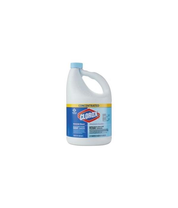 CLOROX® BLEACH LIQUID GERMICIDAL 121oz - 24/DISPLAY (32052)