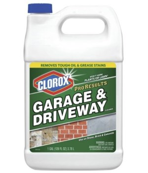 CLOROX® PRO RESULT GARAGE DRIVE WAY CLEANER 128oz- 4/CS  (316083)