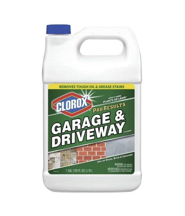CLOROX® PRO RESULT GARAGE DRIVE WAY CLEANER 128oz- 4/CS  (316083)