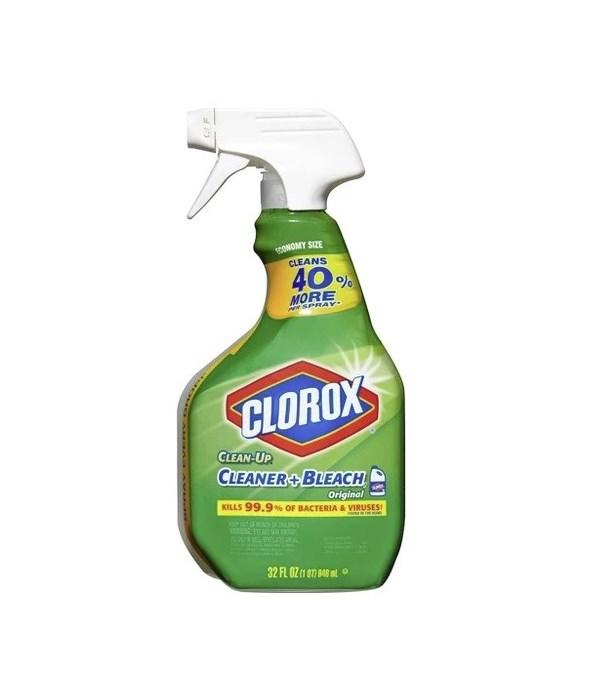 CLOROX® SPRAY 32oz ( 946ml )- ALL PURPOSE CLEANER - 12/CS (01401)