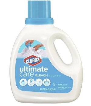 CLOROX® ULTIMATE CARE PREMIUM BLEACH LIQ 90oz- SOFT COTTON SCENT 4/CS (16938)