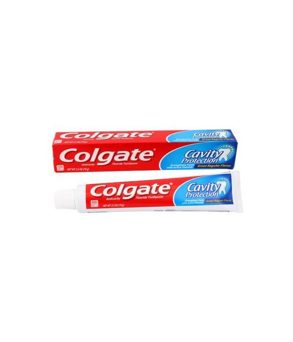 COLGATE® TP 2.5 OZ - ANTI CAVITY REGULAR - 24/CS (51105)