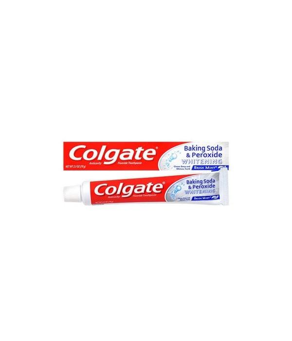 COLGATE® TP 2.5 OZ - BAKING SODA PEROXIDE WHITENING - 24/CS (51106)