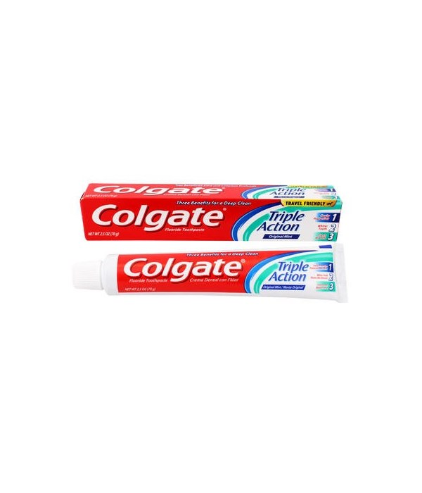 COLGATE® TP 2.5 OZ - TRIPLE ACTION - 24/CS (51110)