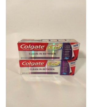 COLGATE TOTAL IN BETWEEN TP 4OZ 4032A