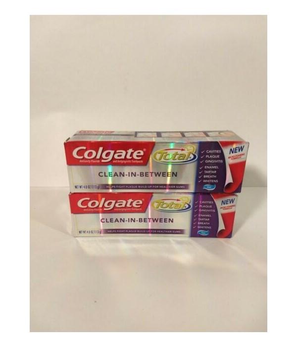 COLGATE TOTAL IN BETWEEN TP 4OZ 4032A