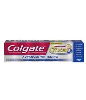 COLGATE 5.8 OZ ADVANCED WHITE PASTE (76340)