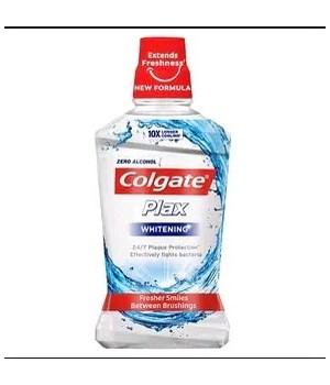 COLGATE® MOUTH WASH PLAX 500ml- OPTIC WHITE- 12/CS
