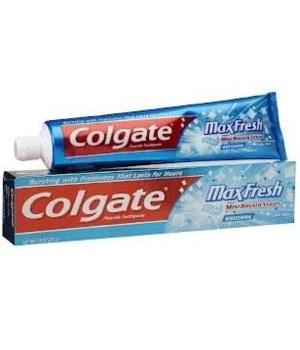 COLGATE® TP 5PKX8 7.8 OZ - MAX FRESH COOL MINT - 40/CS DISPLAY