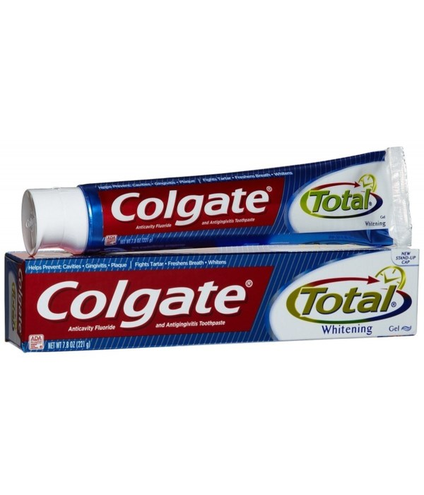 COLGATE® TP 7.8 OZ - TOTAL WHITENING GEL - 24/CS (76322)