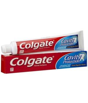COLGATE® TP 8 OZ - ANTI-CAVITY REGULAR - 24/CS (51085)