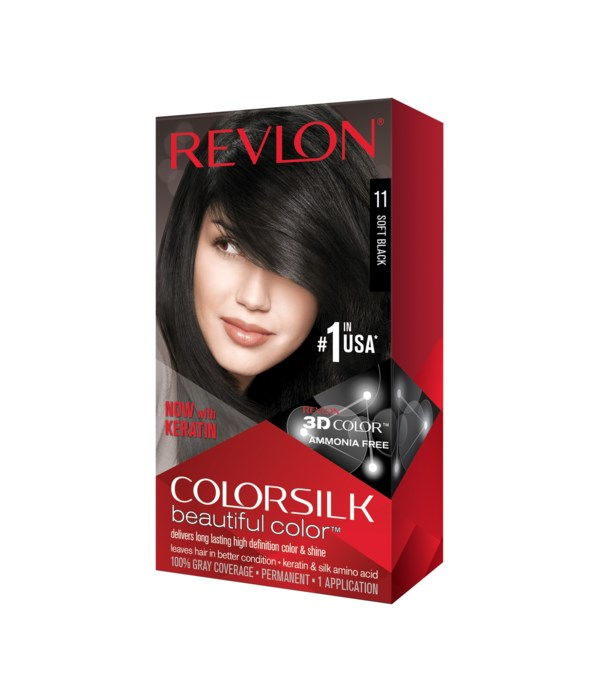 COLOR SILK® SOFT BLACK - #11 - 12/CS