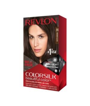 COLOR SILK® BROWN BLACK - #20- 12/CS