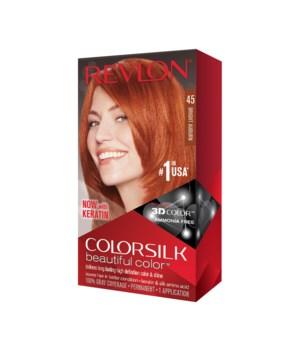 COLOR SILK® BRIGHT AUBURN- #45 - 12/CS (7243257045)