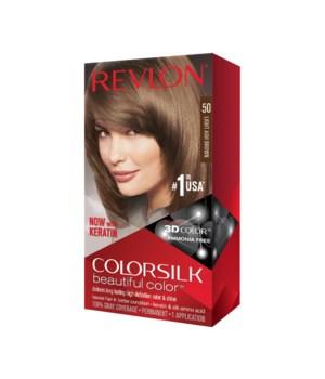 COLOR SILK® LIGHT ASH BROWN - #50 - 12/CS