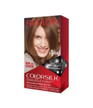 COLOR SILK® LIGHT BROWN - #51 - 12/CS