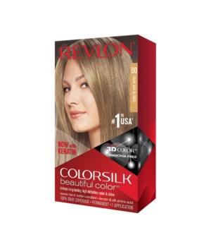 COLOR SILK® DARK ASH BLOND - #60 - 12/CS