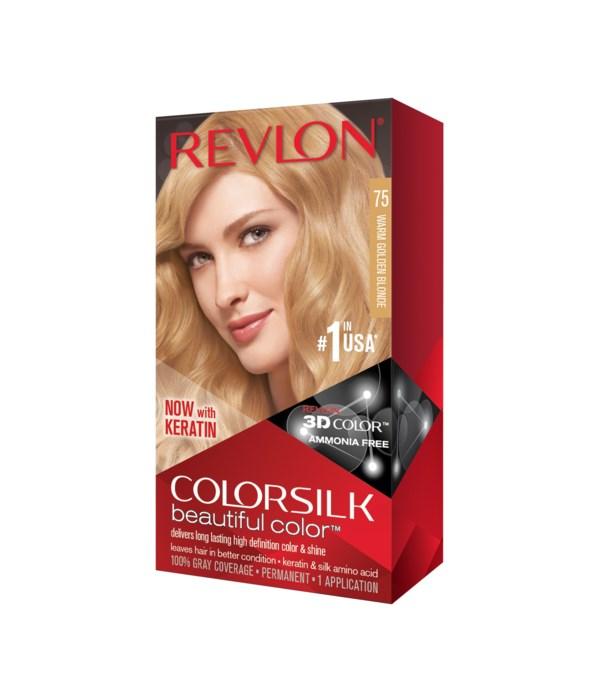 COLOR SILK® LIGHT GOLD BLOND - #75 - 12/CS
