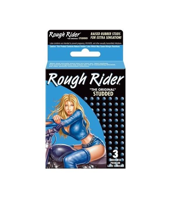 CONTEMPO� ROUGH RIDER STUDDED 3CT # 8631 (Blue) - 12/UNIT