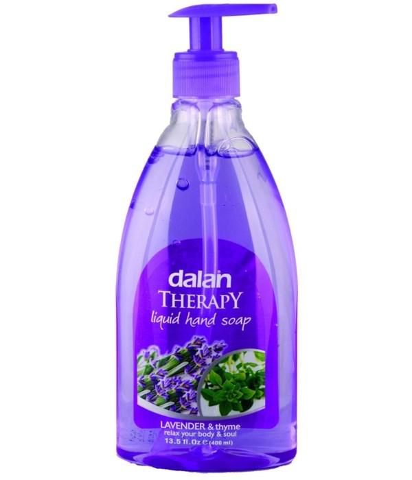 DALAN® LIQUID SOAP 13.5 OZ - LAVENDER & THYME - 24/CS