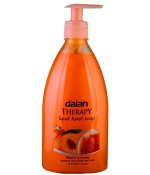 DALAN® LIQUID SOAP 13.5 OZ - PEACH & HONEY  - 24/CS