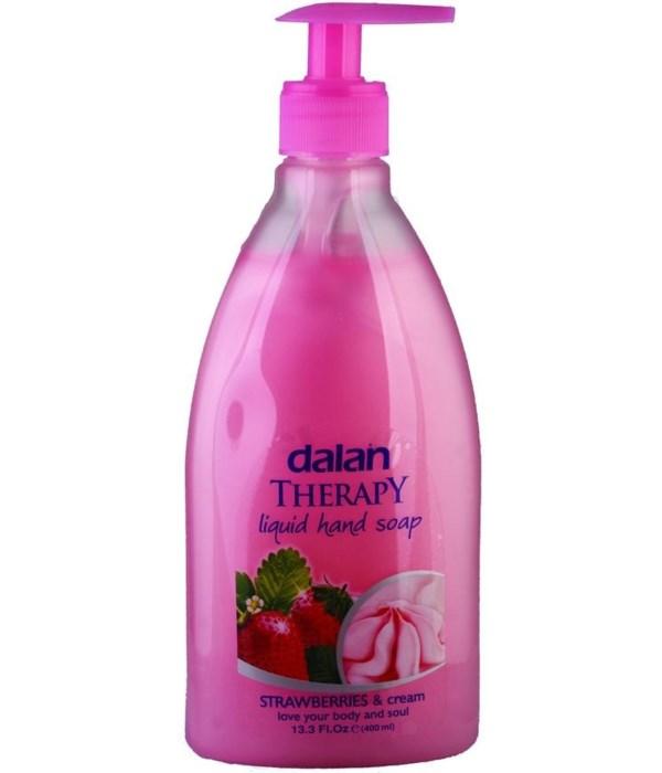 DALAN® LIQUID SOAP 13.5 OZ - STRAW BERRIES & CREAM  - 24/CS
