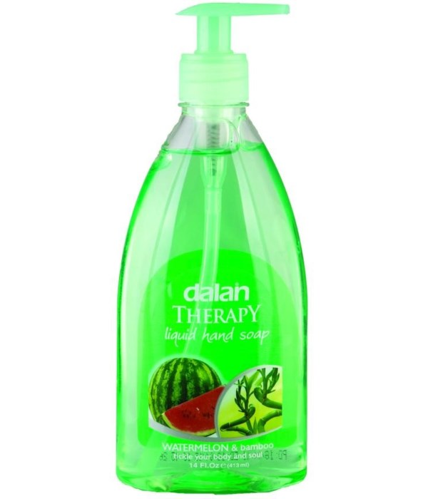 DALAN® LIQUID SOAP 13.5 OZ - WATER MELON & BAMBOO - 24/CS