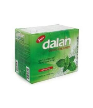 DALAN® BAR SOAP 3PK (3.17oz EACH) - SPRING FRESHNESS- 24/CS
