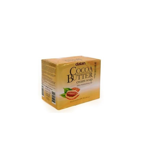 DALAN® BAR SOAP 3PK (3.17oz EACH) - COCOA BUTTER - 24/CS