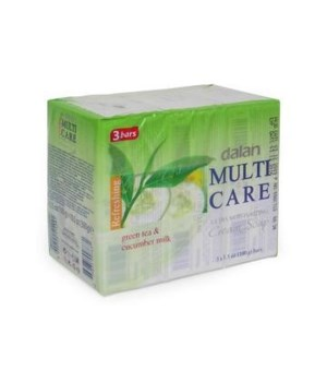DALAN® BAR SOAP 3PK (3.17oz EACH)  - CUCUMBER MILK - 24/CS