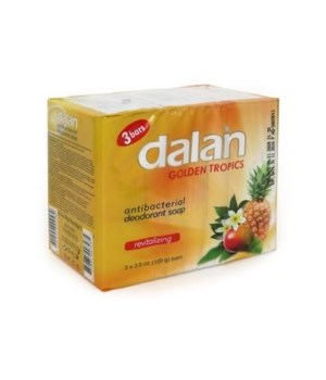DALAN® BAR SOAP 3PK (3.17oz EACH)  - GOLDEN TROPICS- 24/CS