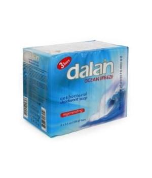 DALAN® BAR SOAP 3PK (3.17oz EACH)  - ANTI BACT OCEAN BREEZE - 24/CS