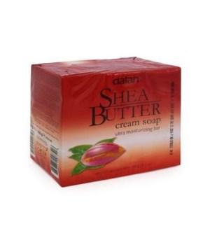 DALAN® BAR SOAP 3PK (3.17oz EACH)  - SHEA BUTTER - 24/CS