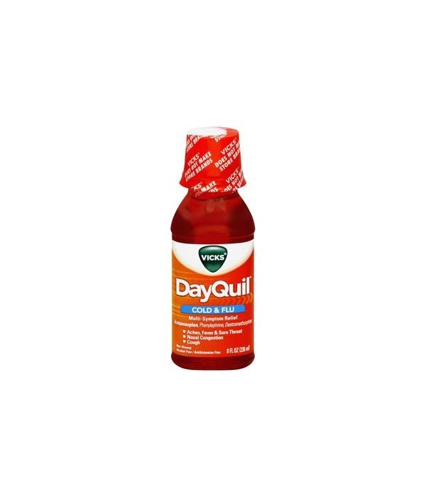 DAY QUIL® 8 OZ - 12/CS