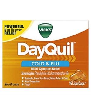 DAY QUIL® LIQ CAPS - 24'S