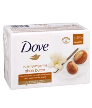 DOVE® BAR SOAP 100 GR - SHEA BUTTER - 48/CS